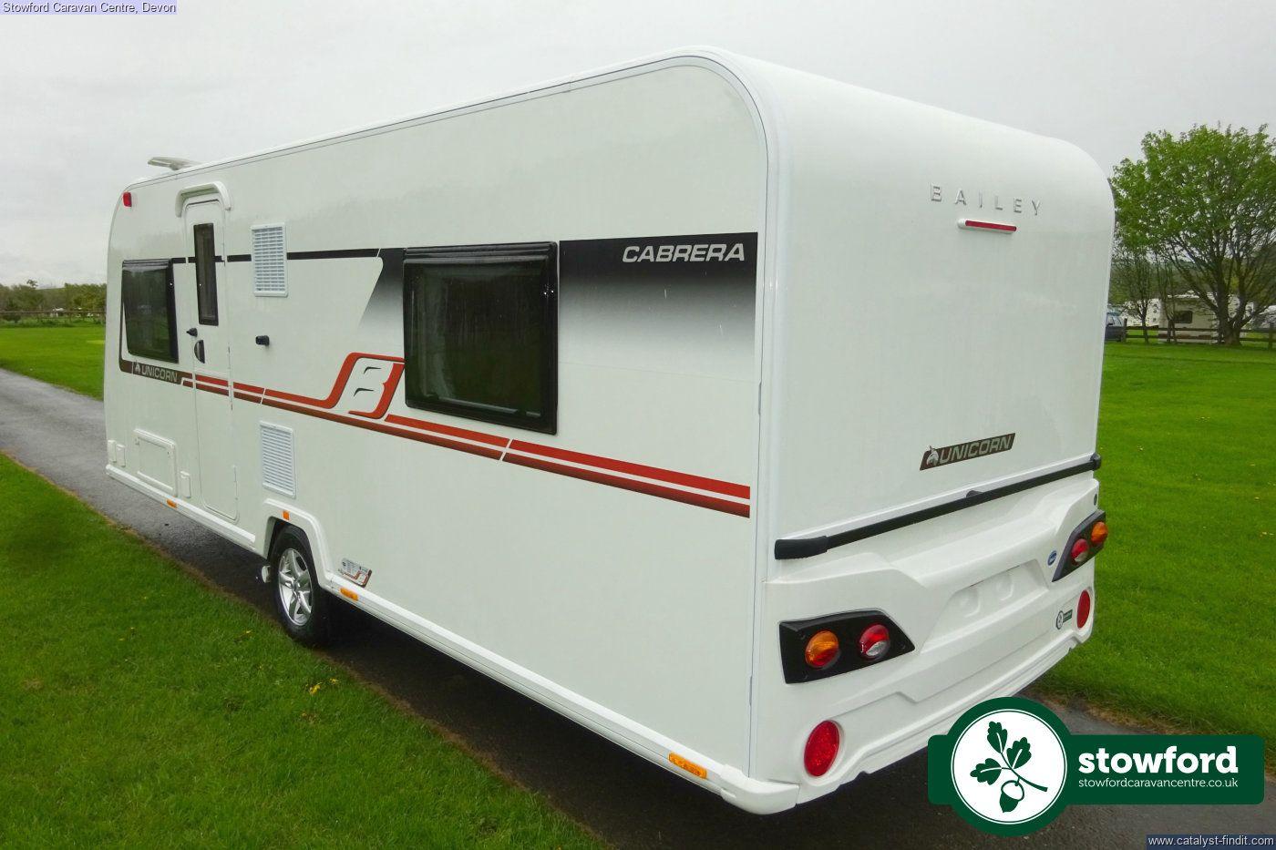 Bailey Unicorn 4 Cabrera 2018 - Stowford Caravan Centre