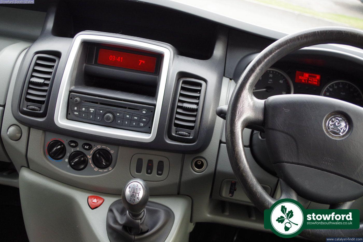 Vauxhall Vivaro cdti 2013