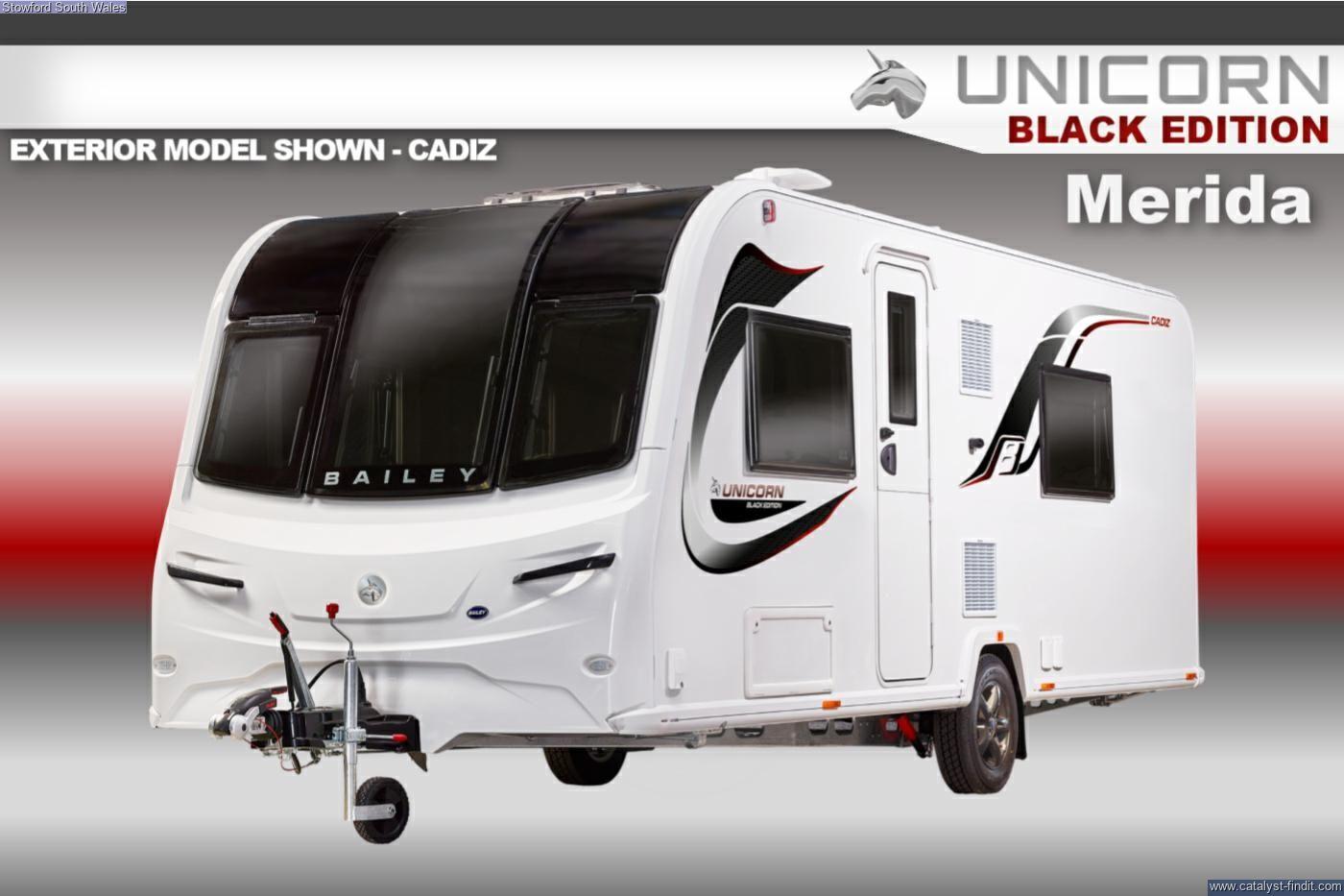 Bailey Unicorn Black Edition Merida 2021